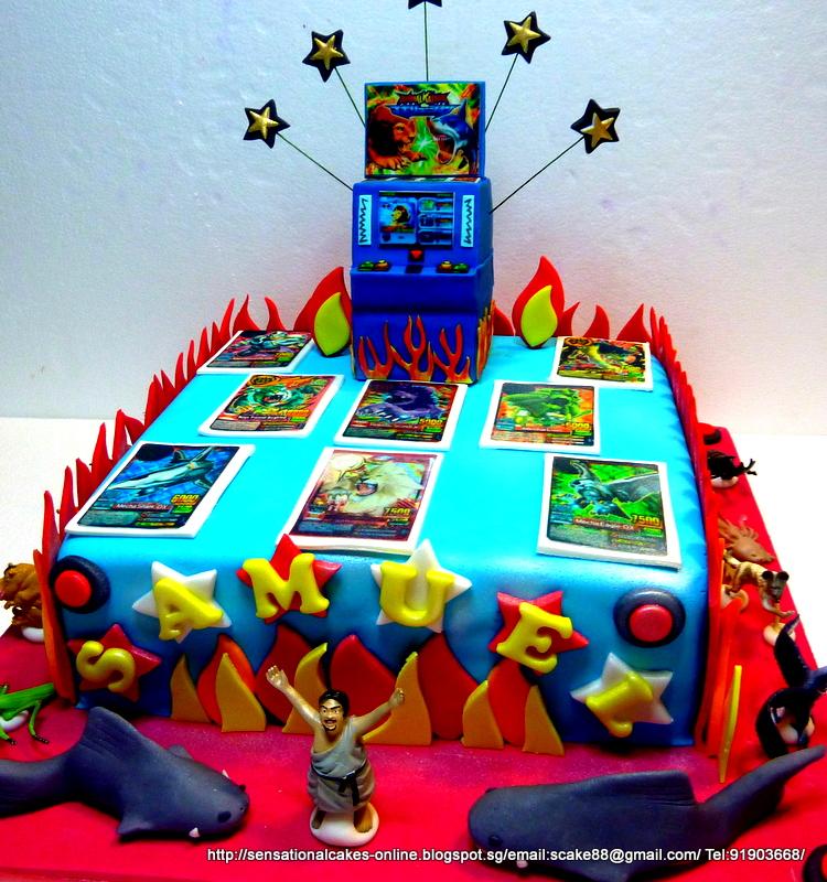 The Sensational Cakes ANIMAL KAISER CAKE SINGAPORE ULTIMATE
