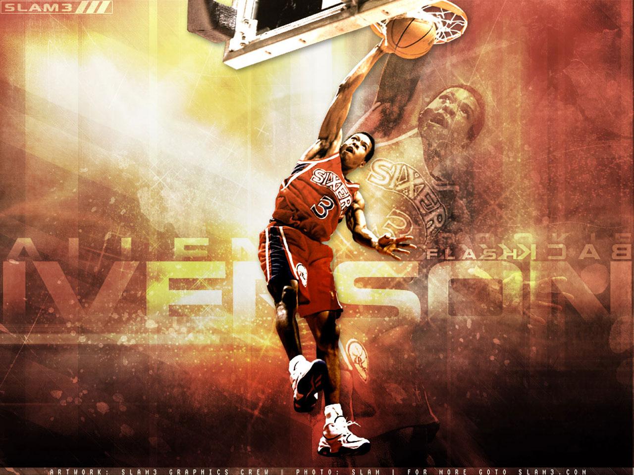 Allen Iverson Wallpaper ~ Big Fan - 262.3KB