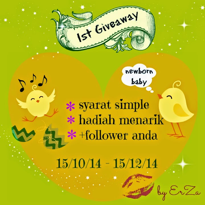 First Giveaway By Erza