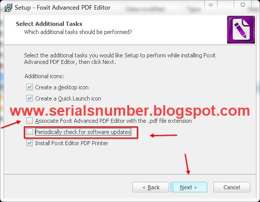 foxit advanced pdf editor 3.10 serial key