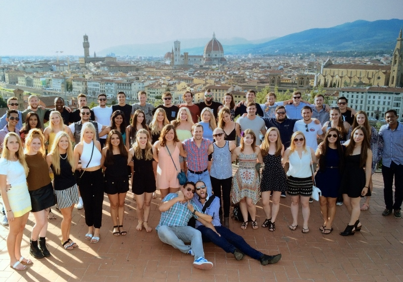 Contiki European Whirl Group 13 June 2015