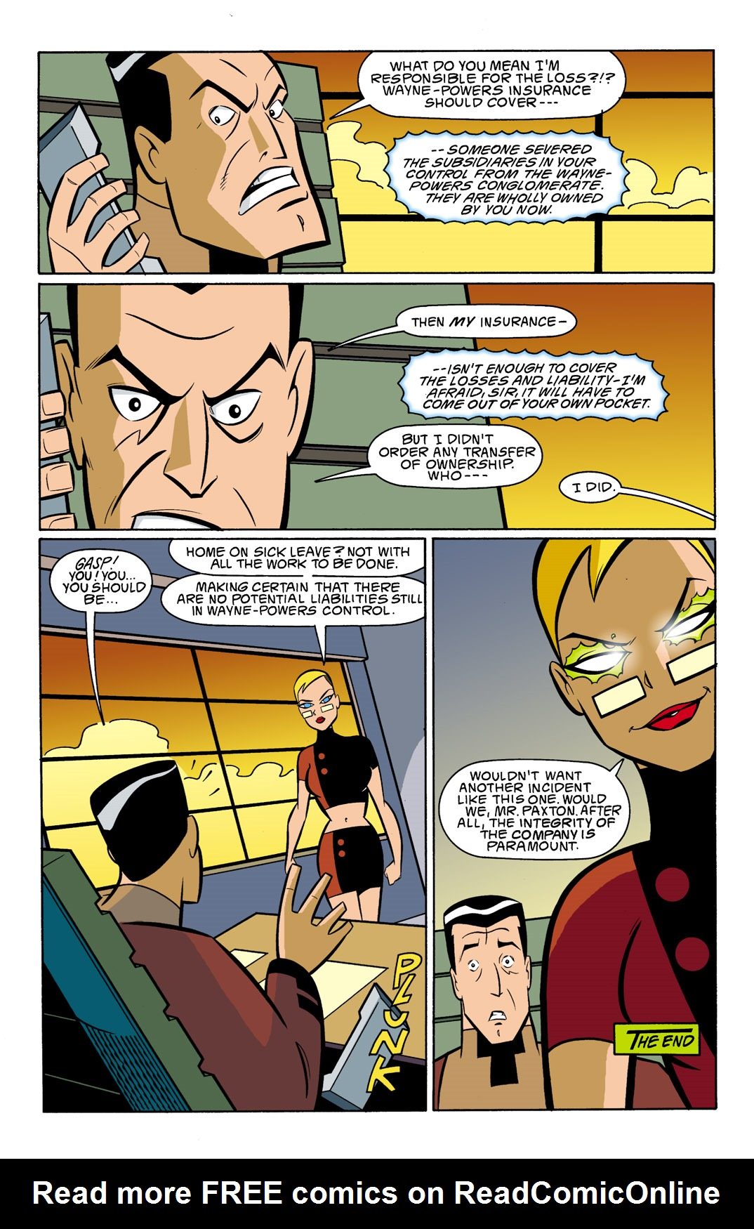 Batman Beyond [II] Issue #8 #8 - English 23