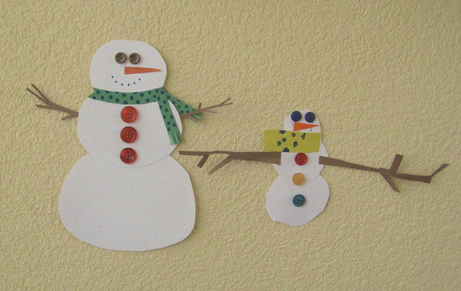 Snowman Craft | New Calendar Template Site