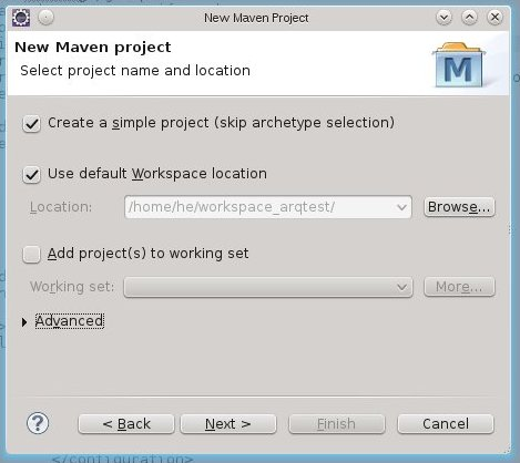 how to create a test case in mavan