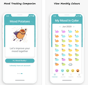 Lifestyle App of the Week - Mood Potatoes