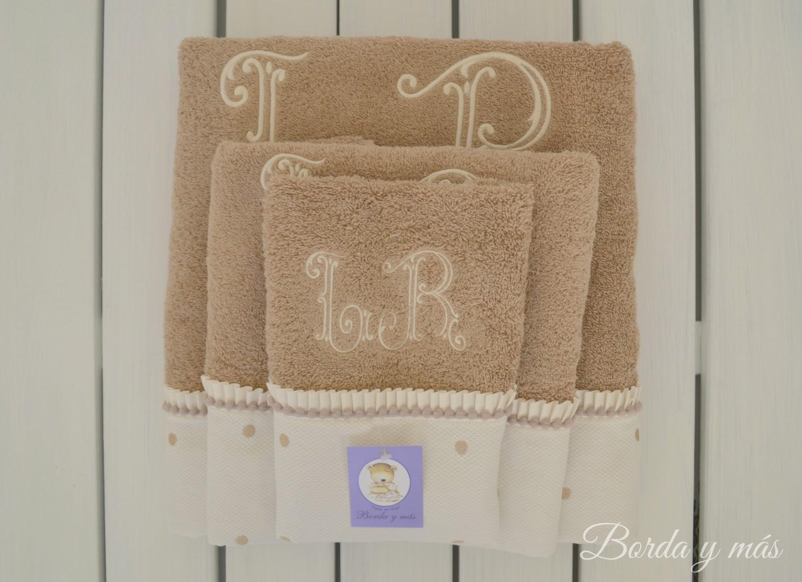 toallas baño personalizadas