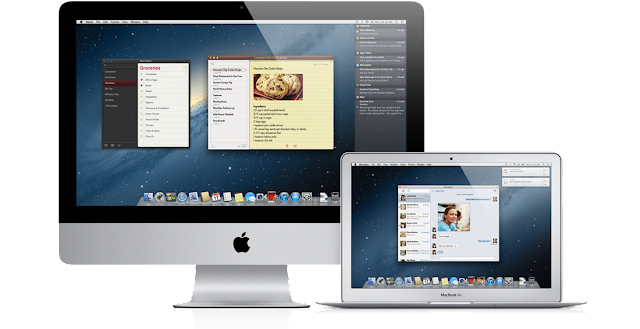 Mac OS X mountain lion features