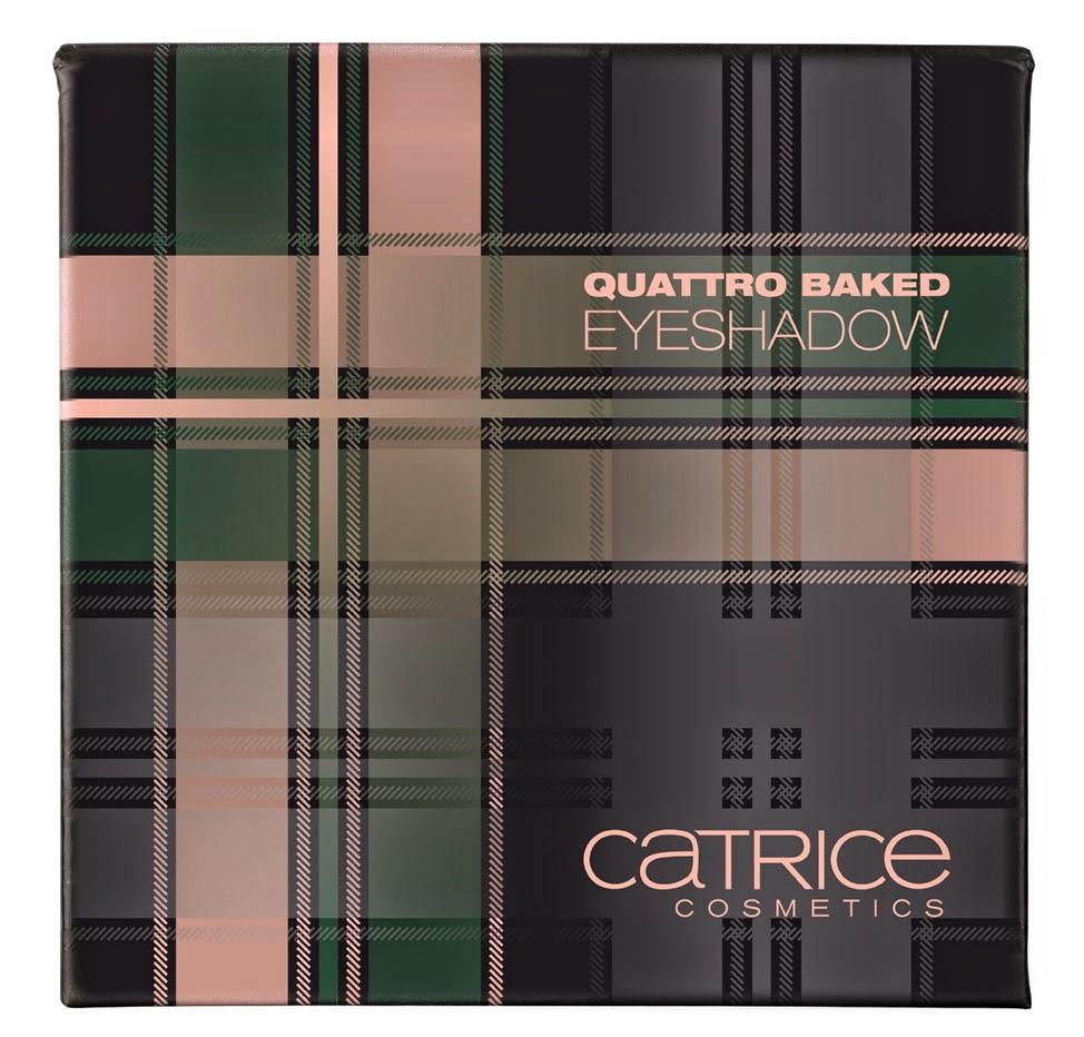 Catrice Check & Tweed Quattro Baked Eyeshadow London's Eye