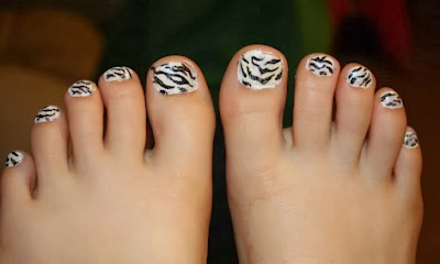 Superb Nail Art Cheetah Print