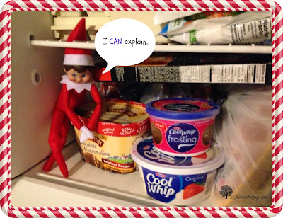 Elf on the Shelf: Icecream