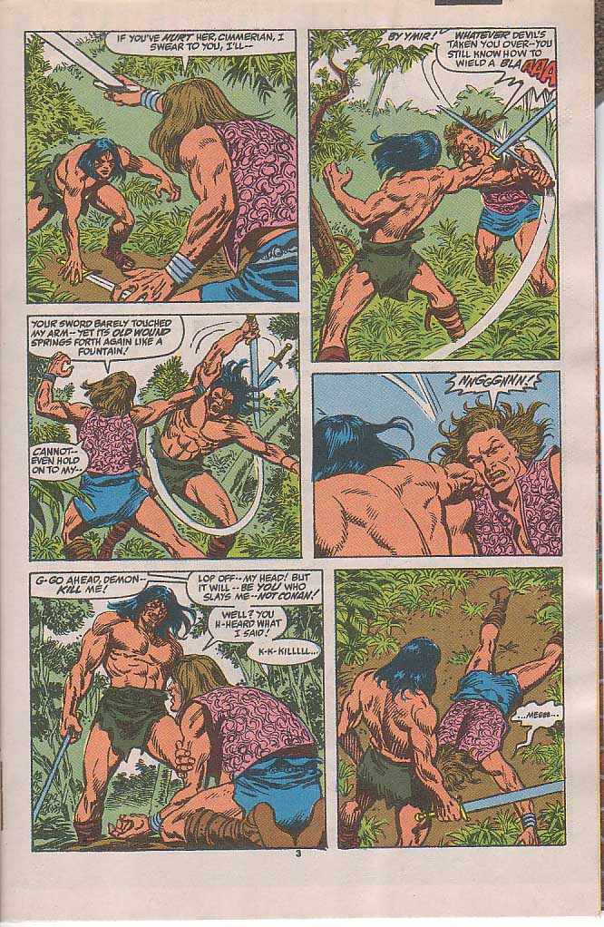 Conan the Barbarian (1970) Issue #240 #252 - English 4