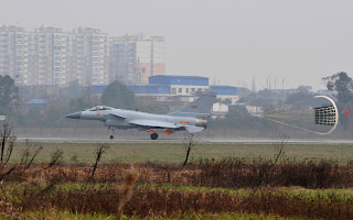 China Continues Testing J-10B Powered By Indigenous WS-10 Engine