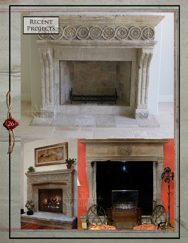 Ancient Surfaces Antique Fireplace Mantles