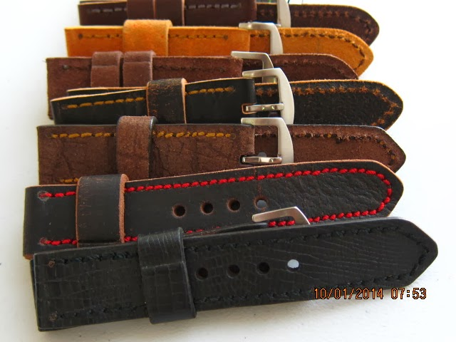 Vintage Leather Straps