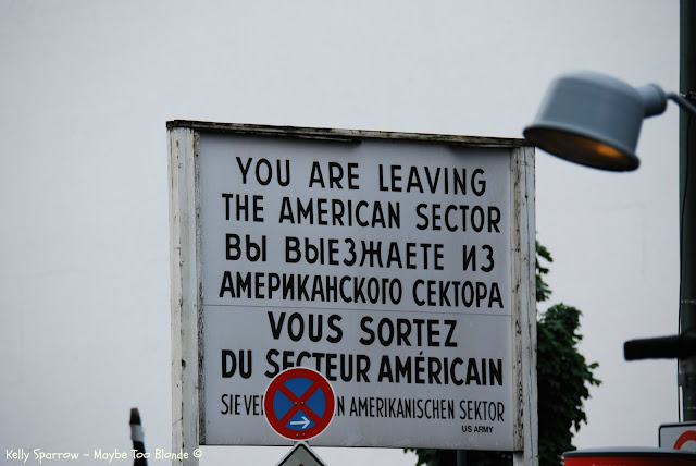 Checkpoint Charlie, East Berlin, American Sector, Germany