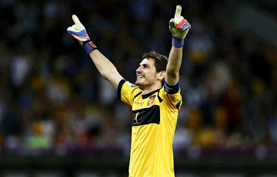Iker Casillas at Euro 2012