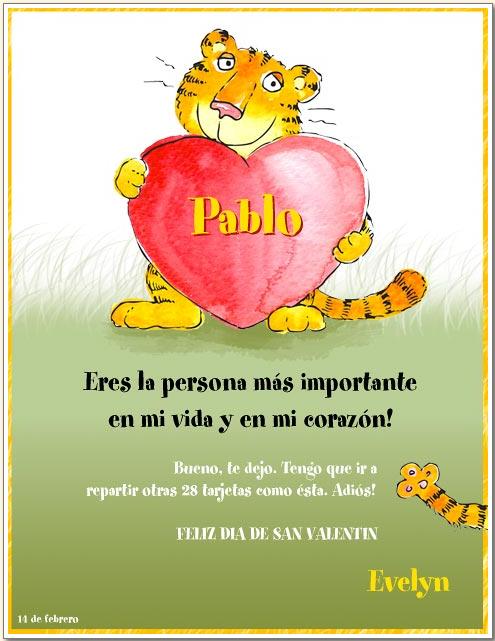 Lista lunes 11915 D a de San Valent n Mis Clases Locas – Valentines Cards in Spanish
