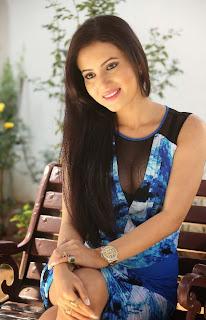 Telugu Actress Anu Smruthi Latest Pictures in Short Dress at Heroine Movie Press Meet  2.jpg