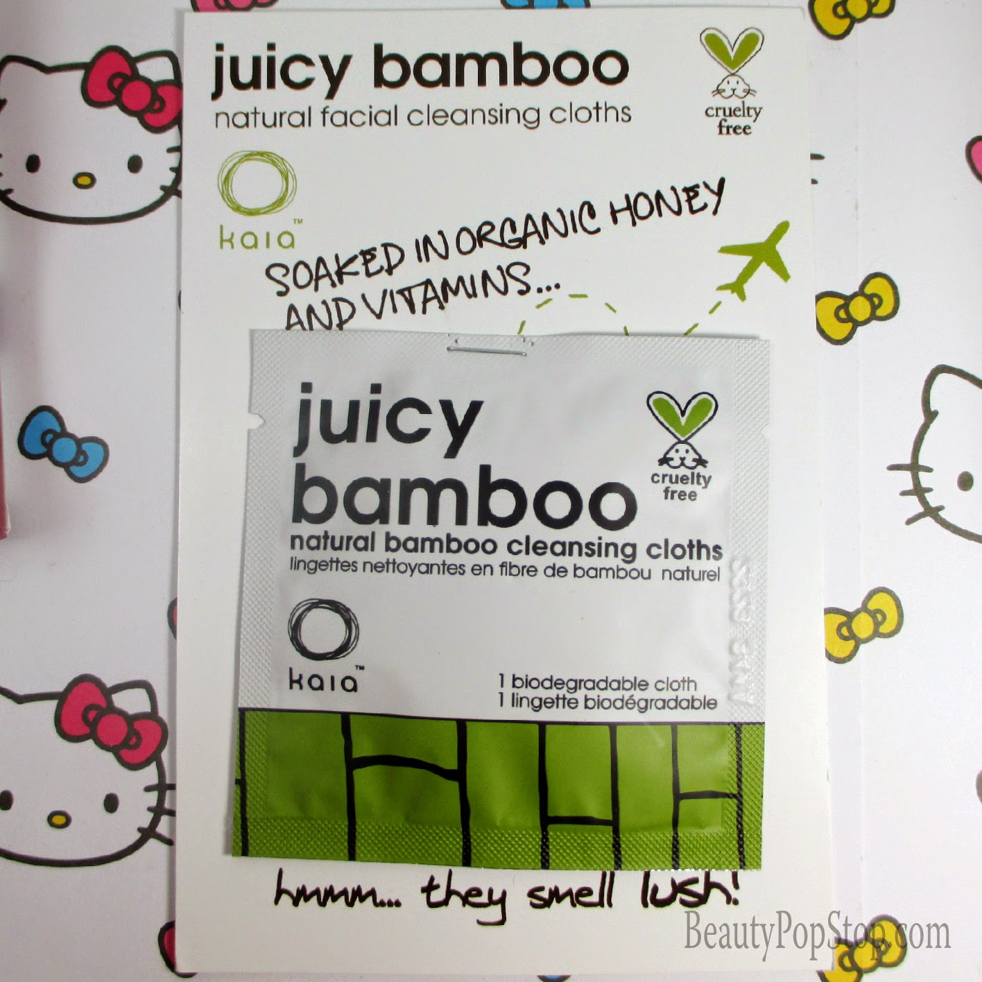 kaia naturals juicy bamboo face cleansing cloths review