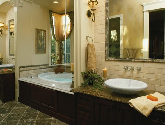 Baños Elegantes Pequenos:Podemos interpretar que estamos en un baño moderno pequeño, es