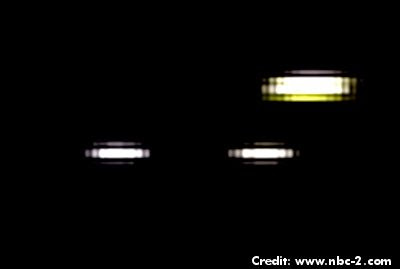UFOs spotted in Cape Coral 1-27-13