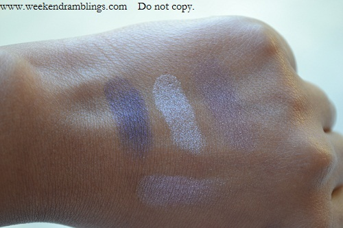chanel sophisticated eyeshadow collection swatches les 4 ombres quad vanities swatches