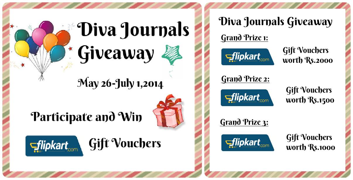 Diva Journals Giveaway