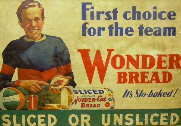 ENG103.05 Rhetoric And Writing : Wonder Bread 1950's Ads