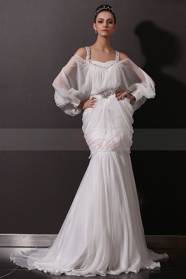 Unique Wedding Dresses With Sleeves : Wedding event dress that women love long sleeves vintage