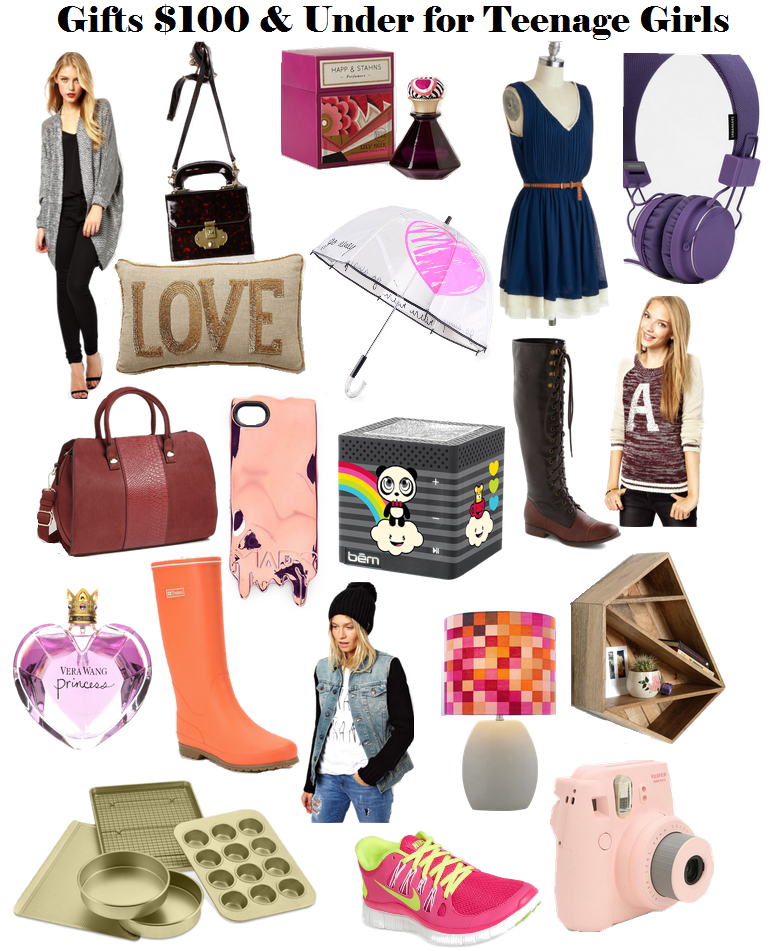 Holiday gift ideas for teen girls under and