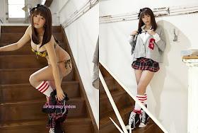 Model Cantik Jepang Berpayudara Montok dan Pantat Semok Ai Shinozaki