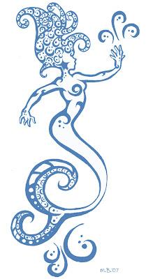 mermaid tails tattoos