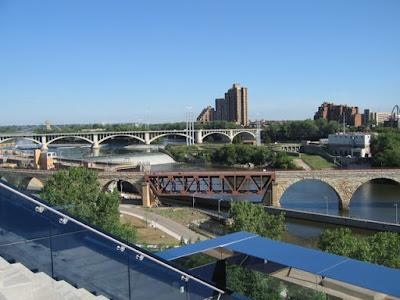 urban infrastructure, Mississippi River, Minneapolis