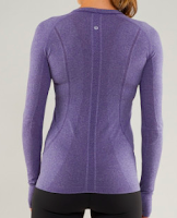 Style Athletics Purple Lululemon Long Sleeve