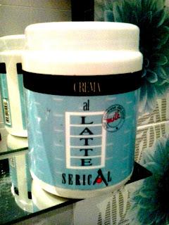 Crema al Latte (Mleczna maska do włosów)