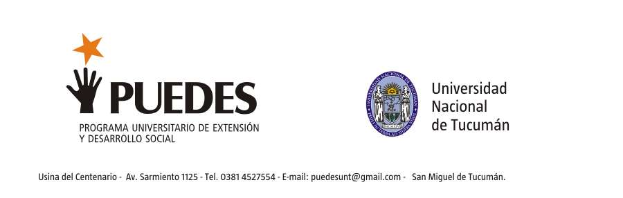 Programa Universitario de Extensión y Desarrollo Social de la UNT