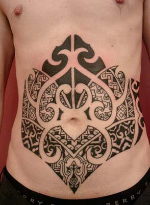 Stomach Tattoos Designs Gallery