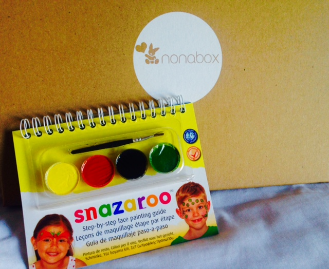 nonabox-septiembre-productos-bebe-mama-pintura-cara-snazaroo