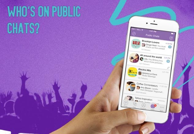 Viber,Public Chats