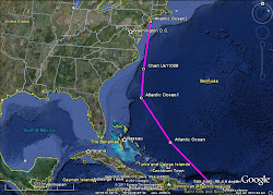 STT to NYC Planned Route