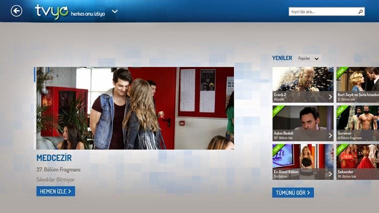 Windows 8'den Televizyon Nasıl İzlenir?