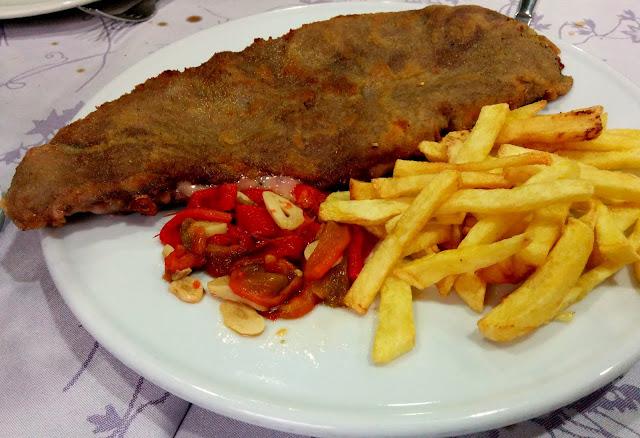 Cachopo en Restaurante la Montaña Madrid