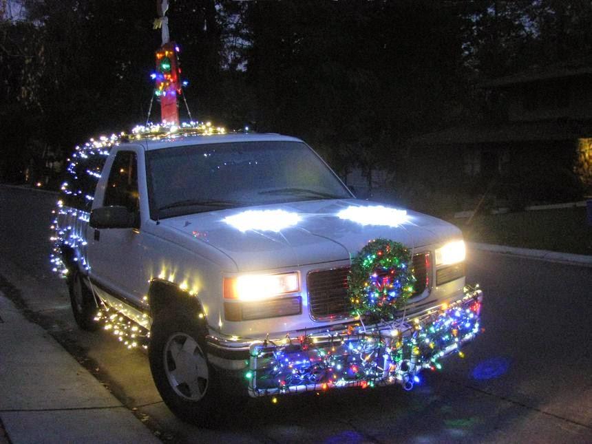 Gambar Mobil Hiasan Natal XMas Paling Unik Part 1