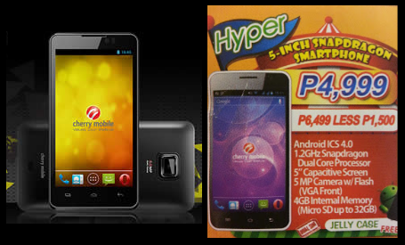 Cherry Mobile Thunder vs Cherry Mobile Hyper at Php 4,999