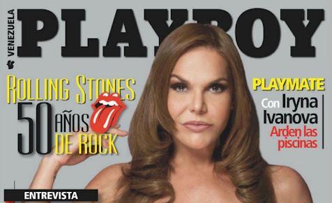 Hilda Abrahamz Revista Playboy Venezuela Marzo 2012