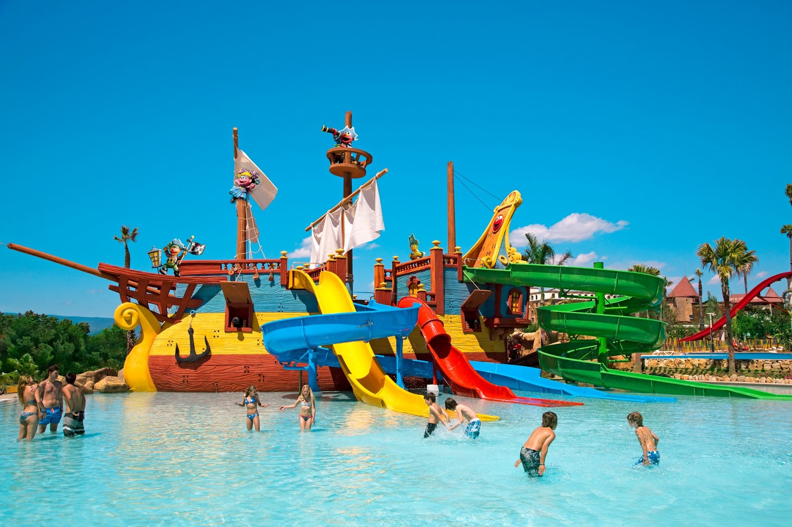 Alentours barcelone portaventura costa caribe aquatic park - Port aventura parc aquatique ...