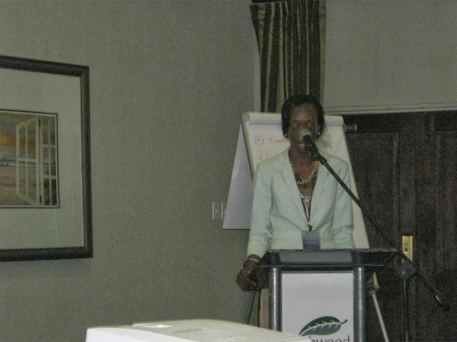 SSA Grant Writing Workshop-Johannesburg/SA