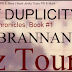 Blitz Tour:  Mask of Duplicity by Julia Brannan
