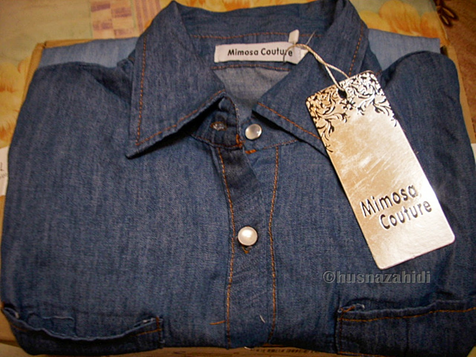 denim shirt by zalora