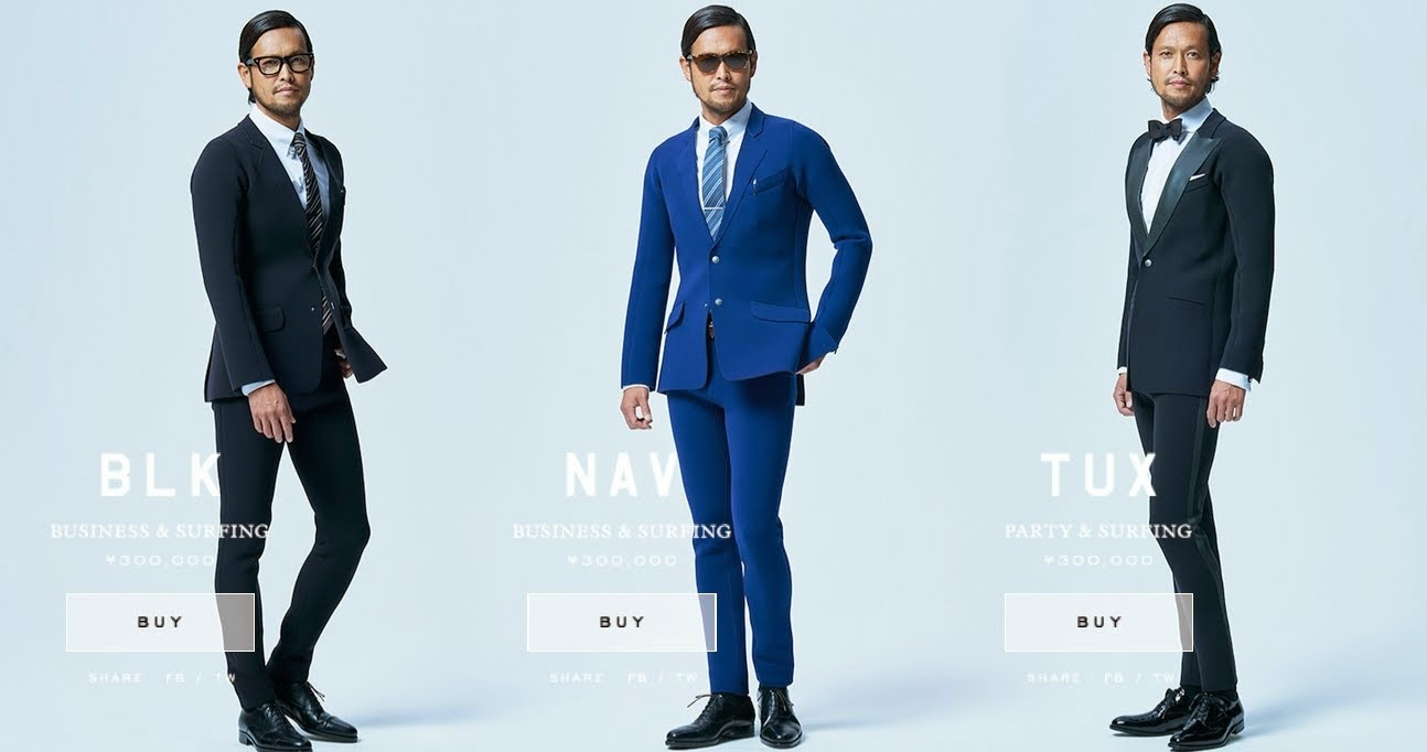 Moda en trajes de hombre 2015
